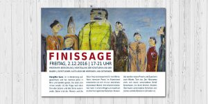 Finissage Flyer